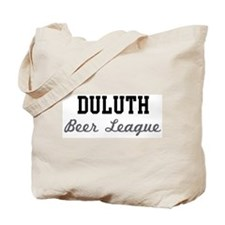 Duluth Beer League Tote Bag