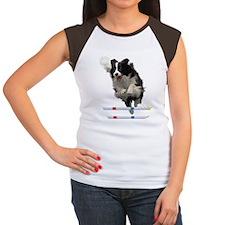 Bounce Jump Women's Cap Sleeve T-Shirt