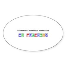 Fisheries Research Scientist In Training Decal