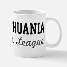 Lithuania Beer League Mug