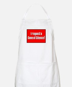 Cone of Silence Get Smart BBQ Apron