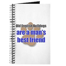 Old English Bulldogs man's best friend Journal