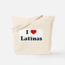 I Love Latinas Tote Bag
