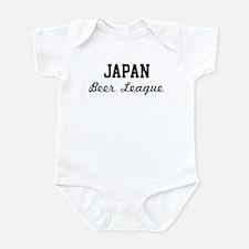 Japan Beer League Infant Bodysuit