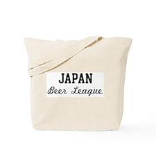 Japan Beer League Tote Bag