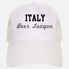 Italy Beer League Baseball Baseball Cap