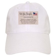 Amendment X w/Flag Baseball Cap