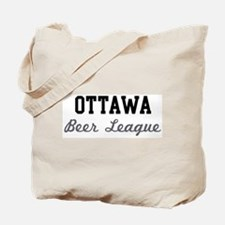 Ottawa Beer League Tote Bag