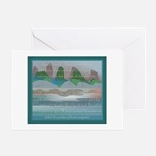 TIKI TOON's hawaiian Goddess Greeting Card