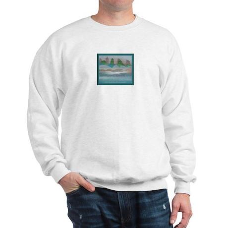 TIKI TOON's hawaiian Goddess 2 Sided Sweatshirt
