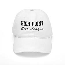High Point Beer League Baseball Cap