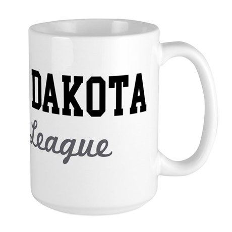 North Dakota Beer League Large Mug