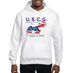 US Coast Guard Keeping Americ Hoodie