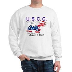 US Coast Guard Keeping Americ Sweatshirt