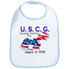 US Coast Guard Keeping Americ Bib
