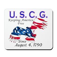 US Coast Guard Keeping Americ Mousepad