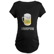 Turkmenistan Drinking Team T-Shirt
