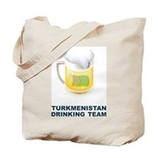 Turkmenistan Drinking Team Tote Bag