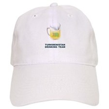 Turkmenistan Drinking Team Baseball Cap