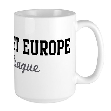 South-East Europe Beer League Large Mug