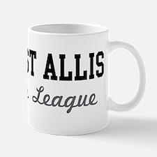 West Allis Beer League Mug
