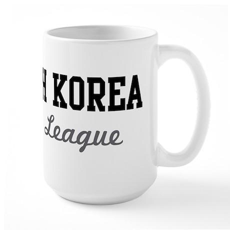 South Korea Beer League Large Mug