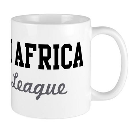 South Africa Beer League Mug