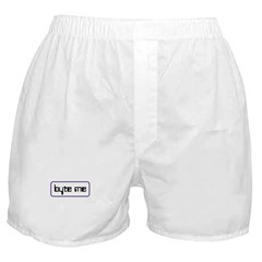 byte me Boxer Shorts