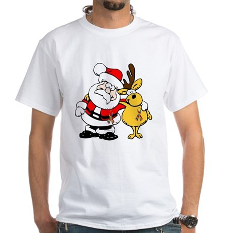 Autism Awareness Christmas design White T-Shirt