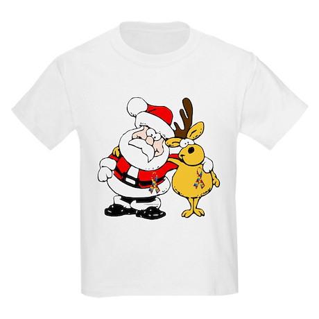 Autism Awareness Christmas design Kids Light T-Shi