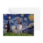 Starry-AmericanHairless T Greeting Cards (Pk of 20