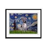 Starry-AmericanHairless T Framed Panel Print