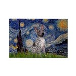 Starry-AmericanHairless T Rectangle Magnet