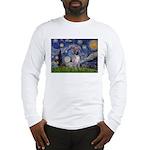 Starry-AmericanHairless T Long Sleeve T-Shirt