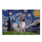 Starry-AmericanHairless T Postcards (Package of 8)