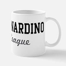San Bernardino Beer League Mug