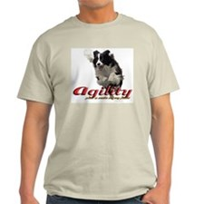 Agility Smile Ash Grey T-Shirt