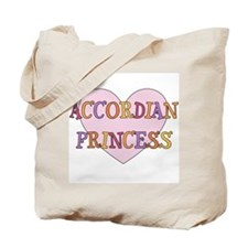 Princess Accordian Tote Bag