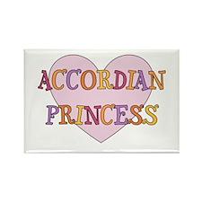 Princess Accordian Rectangle Magnet