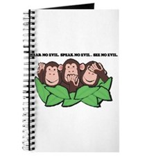 No Evil Monkeys Journal