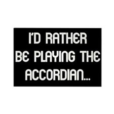 rather accordian Rectangle Magnet (10 pack)