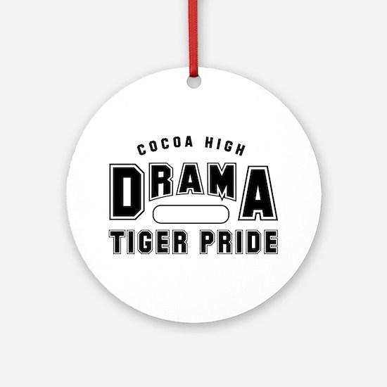 CHS Drama Gym B Ornament (Round)