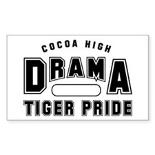 CHS Drama Gym B Rectangle Decal