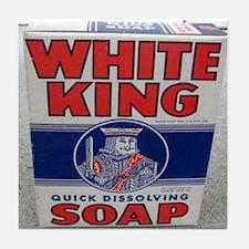 White King Soap Tile Coaster