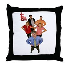 Trip Fives Throw Pillow