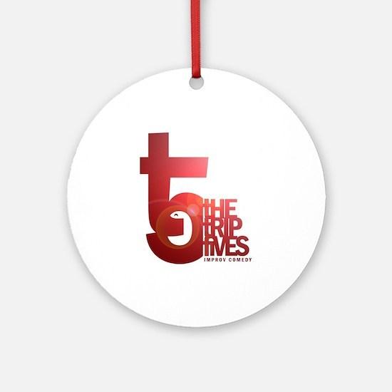 Trip Fives logo Ornament (Round)
