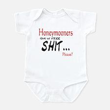 Wedding Honeymoon Infant Bodysuit