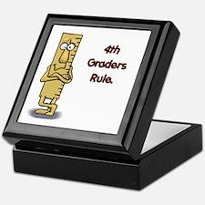4th Graders Rule Keepsake Box