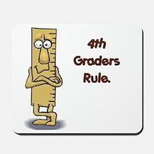 4th Graders Rule Mousepad