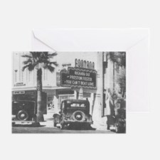 Pack of 20 Fontana Theater (1937) Sentiment Cards